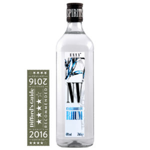 ENVY/NV Rhum with Difford's Guide award