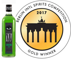 ENVY /NV Absinthe Wins Gold at Berlin International Spirits Comp 2017