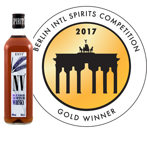 Envy Whisky Berlin International Spirits Competition Gold Medal Winner