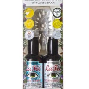 La Fee Absinthe tasting set parisienne and blanche